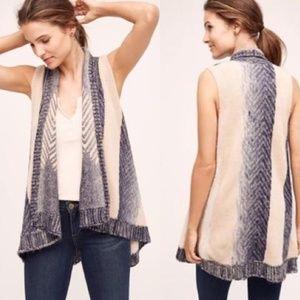 ANTHROPOLOGIE Mabli Sweater Vest {2C22}